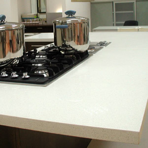 Caesarstone Eggshell Quartz Countertops 44 99 Installed