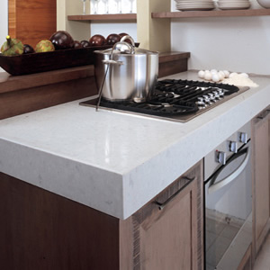 Caesarstone misty carrera quartz countertops for Caesarstone cost per slab