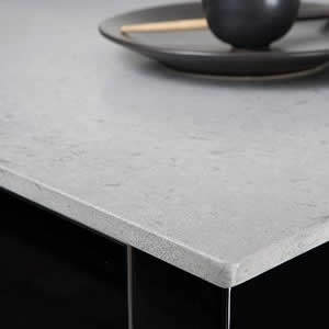 Pebble Caesarstone Is Comprised Of 93 Natural Quartz S Nonporous Very Hard Surface Resistant To Stains Scratches Moderate Heat