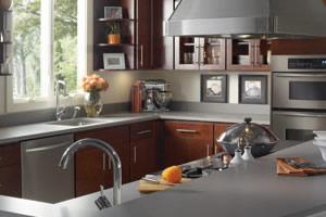 Gray Silestone Countertops
