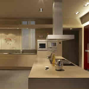 Silestone tigris sand quartz countertops installed for Kitchen cabinets 90808
